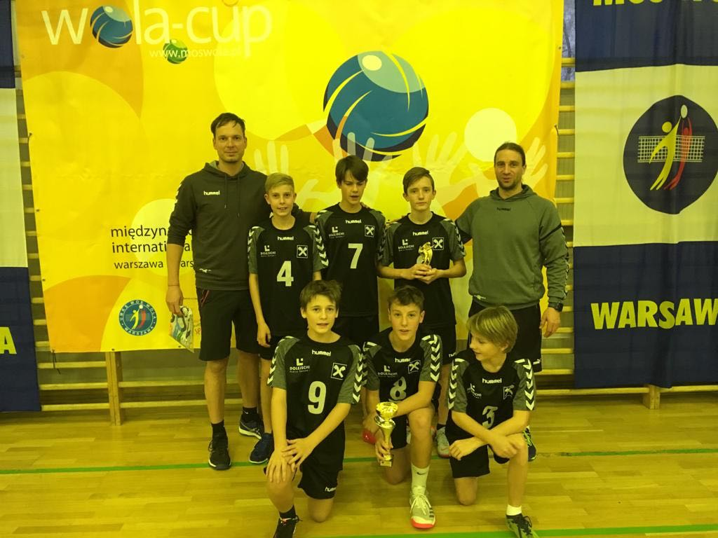 U13-Volleyballfestival in Warschau