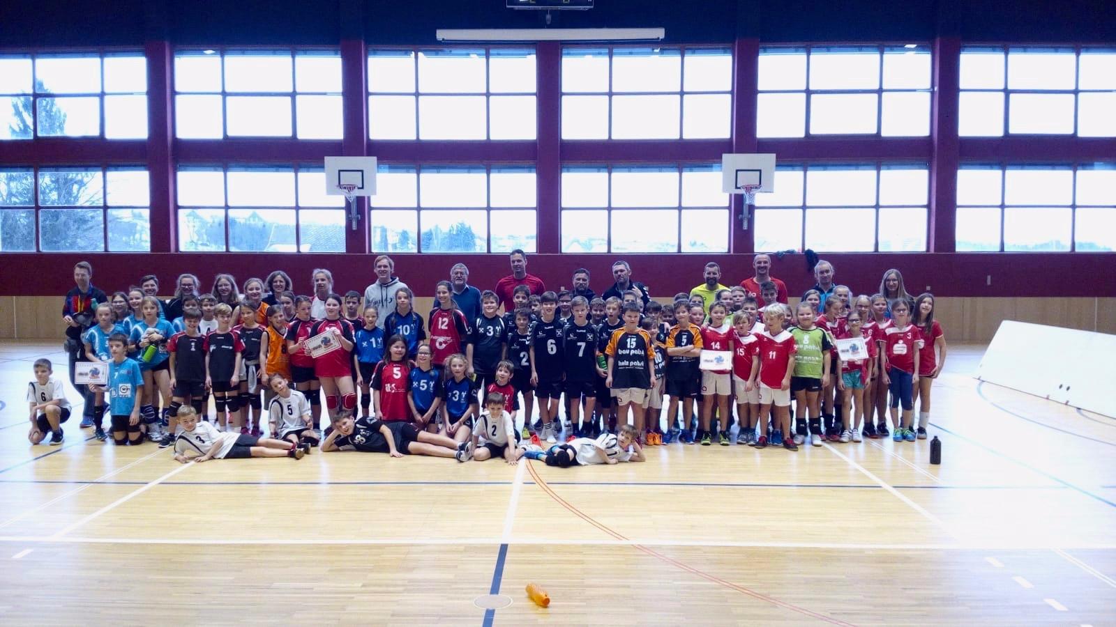 """Mega U11-Turnier im """"Volleyviertel"""""""