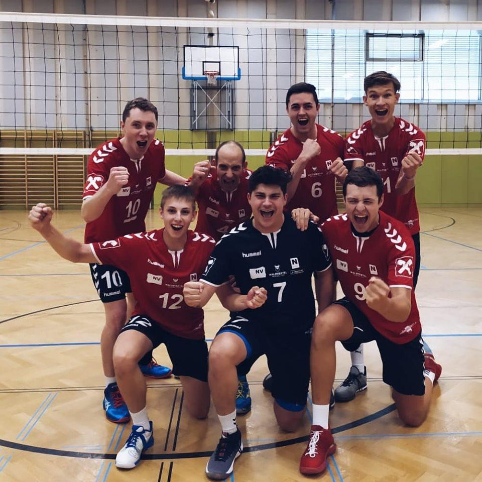 Knappes Spiel gegen St. Pölten und erstmaliger Sieg im ÖVV-Cup