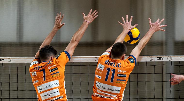 Keine Chance gegen ACH Volley Ljubljana