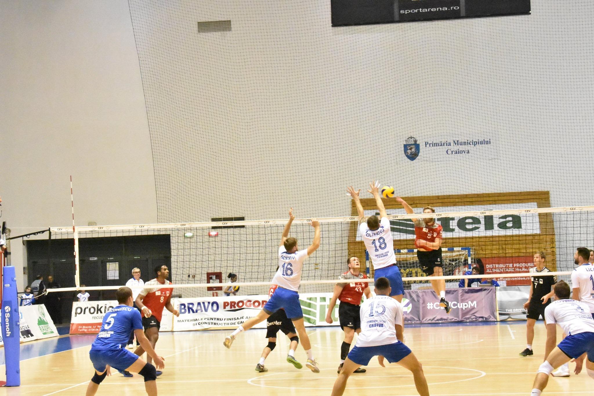 Europacup – SCM U Craiova schlug zurück