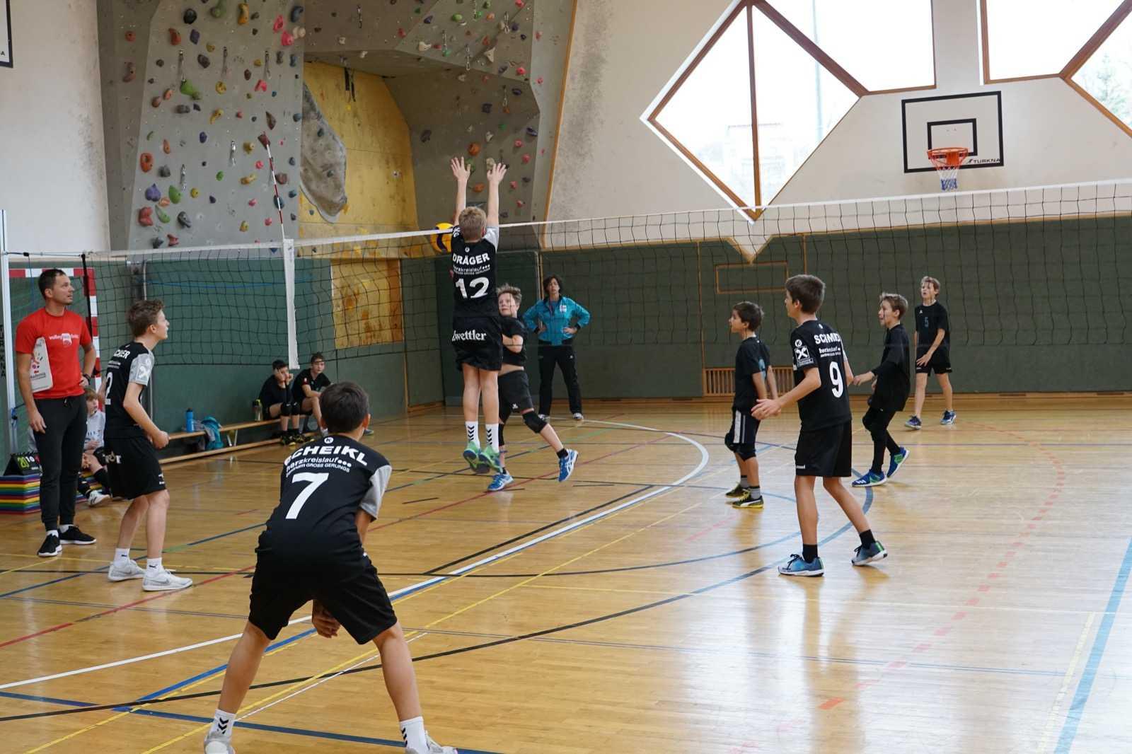 U15 gewinnt Turnier in der SMS Zwettl