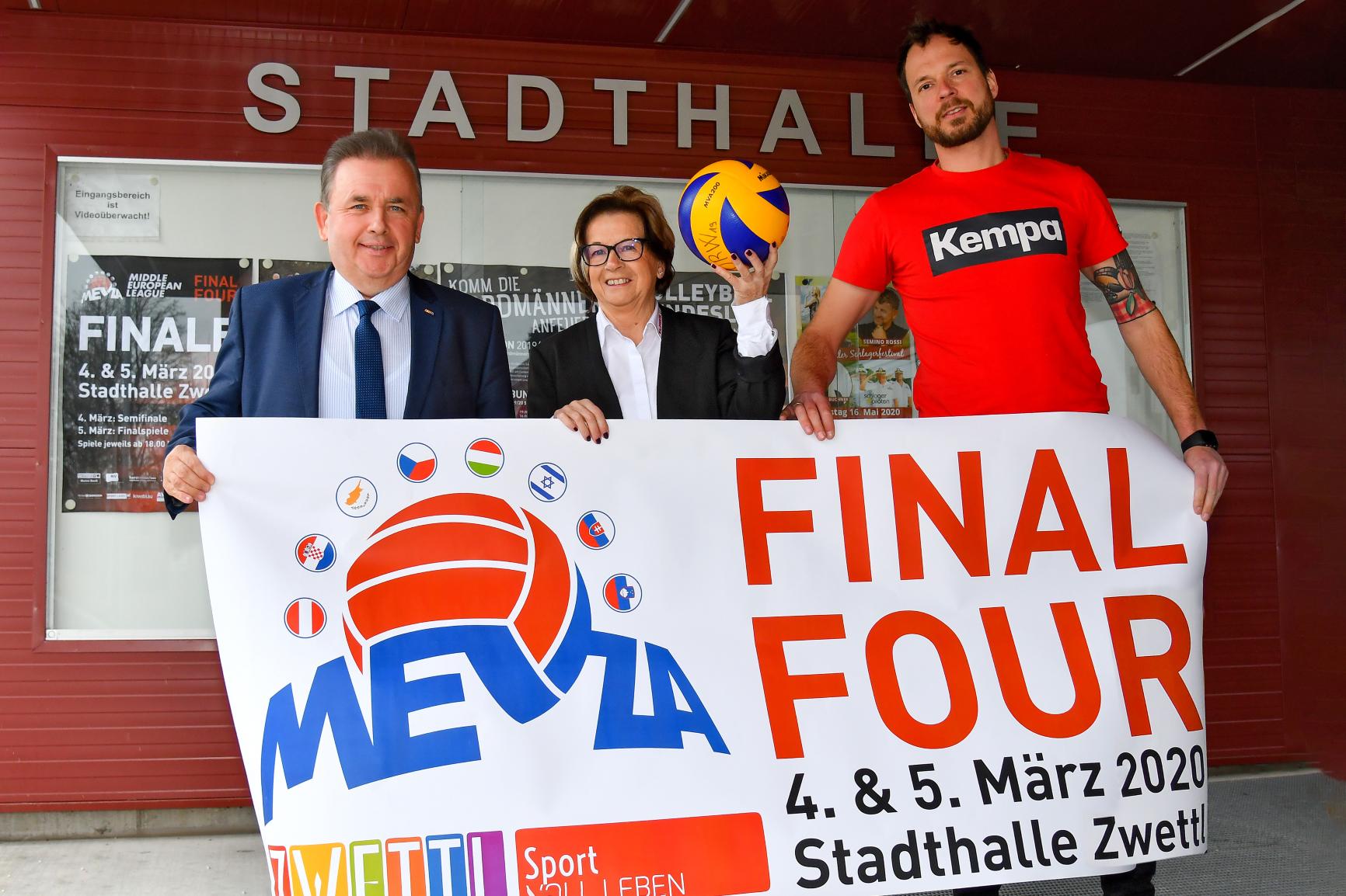 MEVZA Final Four in der Stadthalle Zwettl