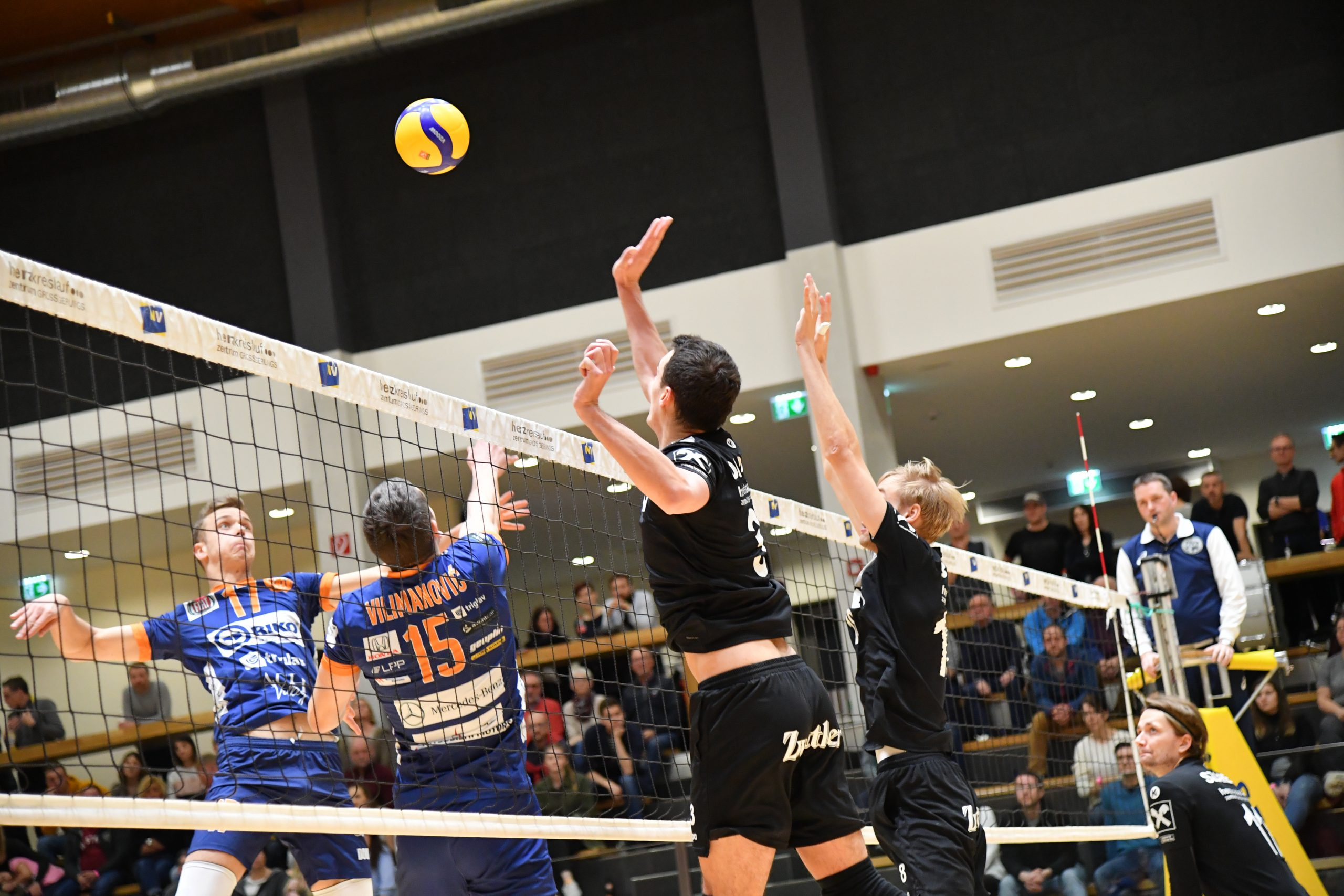 MEZVA Final Four – URW gegen ACH Volley Ljubljana