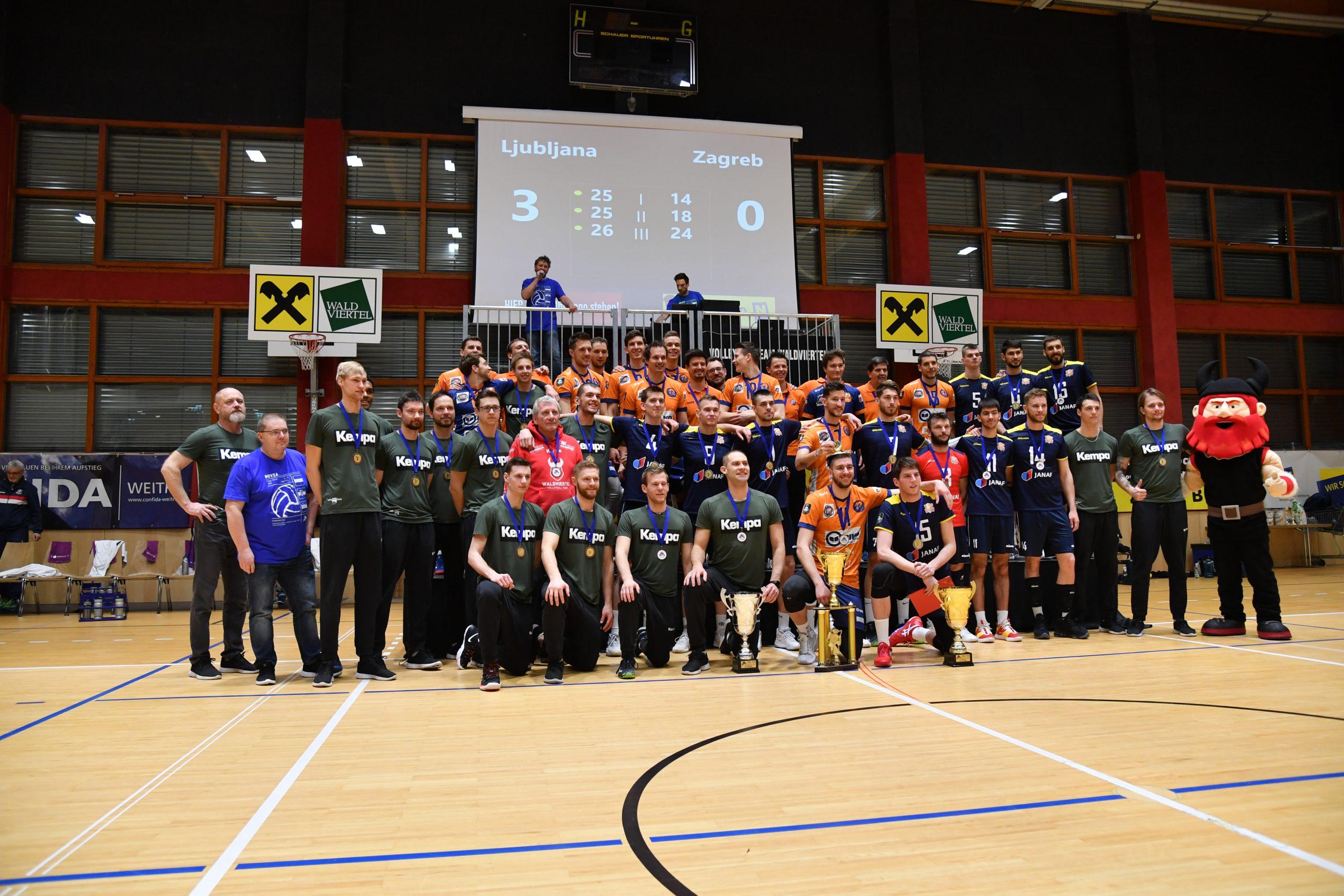 MEVZA Final Four – Nordmänner holen historisches Bronze ins Waldviertel