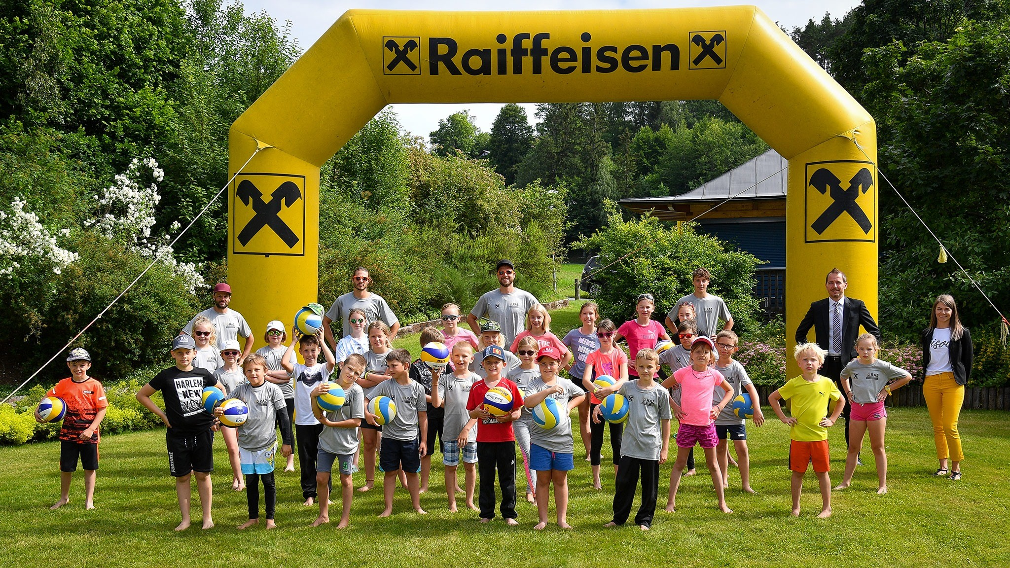RAZ Volleyball Waldviertel Sommercamp in Arbesbach