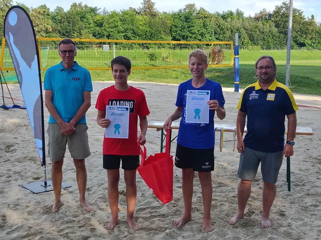 URW Nachwuchs trumpft beim Beachvolleyball groß auf!