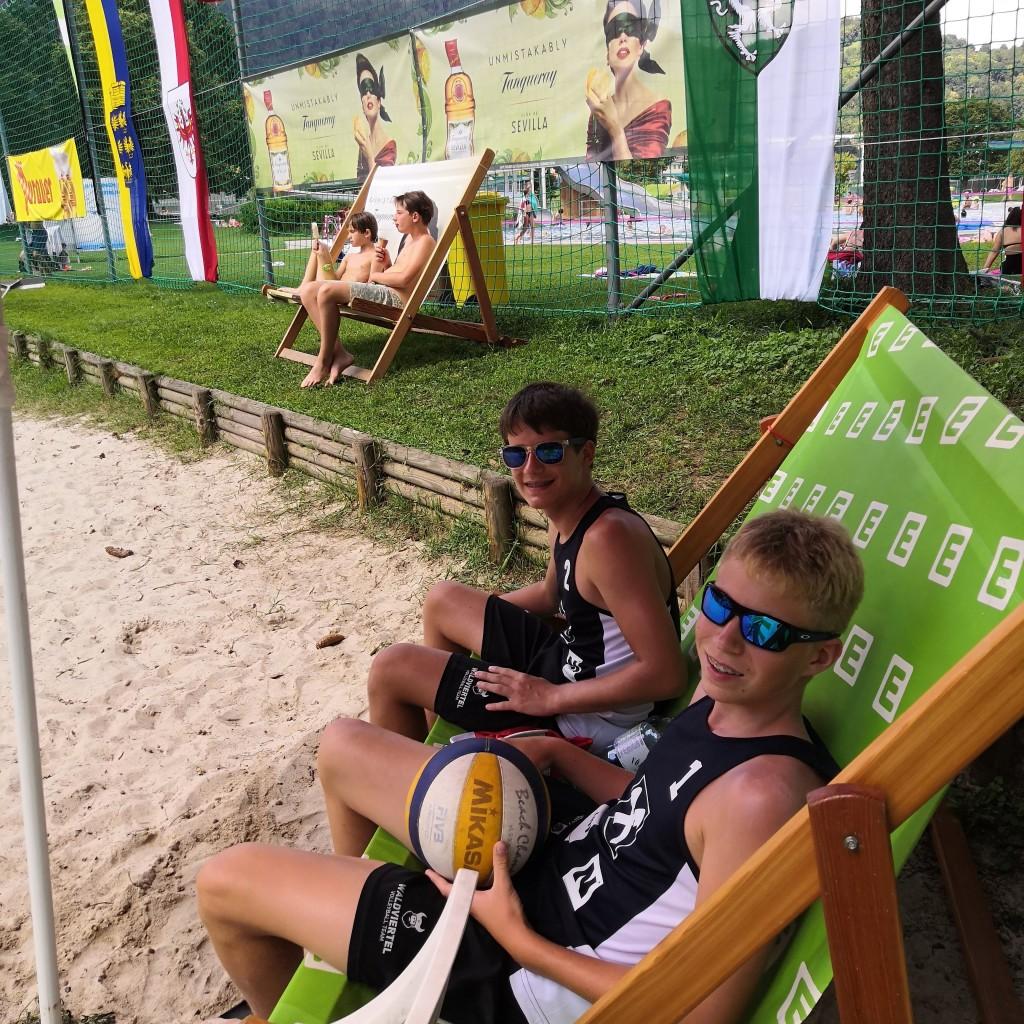 Platz 4 bei Beach-Staatsmeisterschaften in Graz