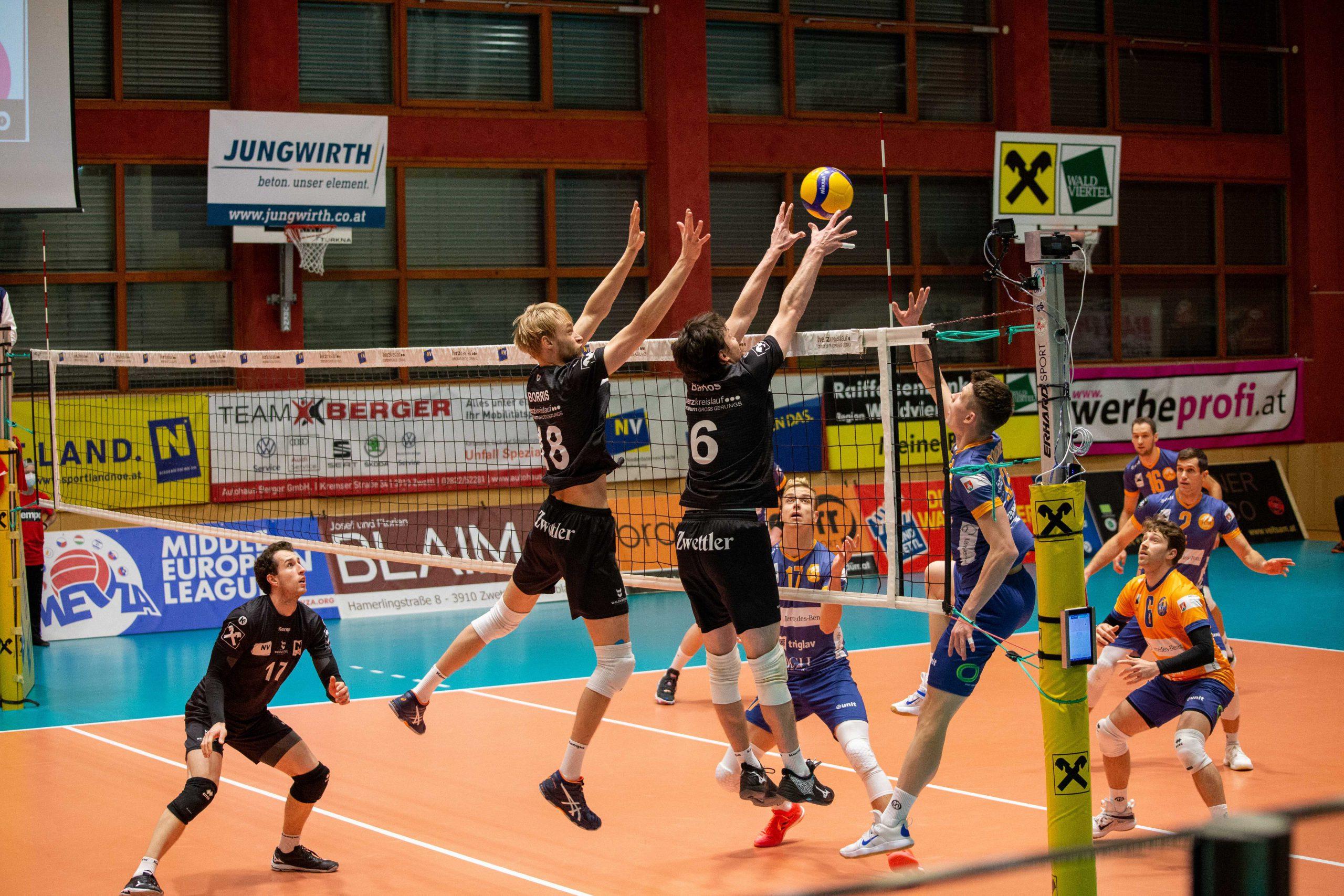 Chancenlos gegen Titelverteidiger ACH Volley Ljubljana