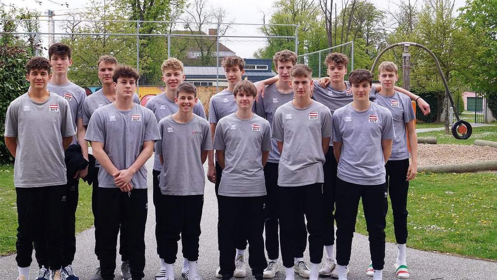 Lehrgang für Volleyball-Jugendnationalteamspieler
