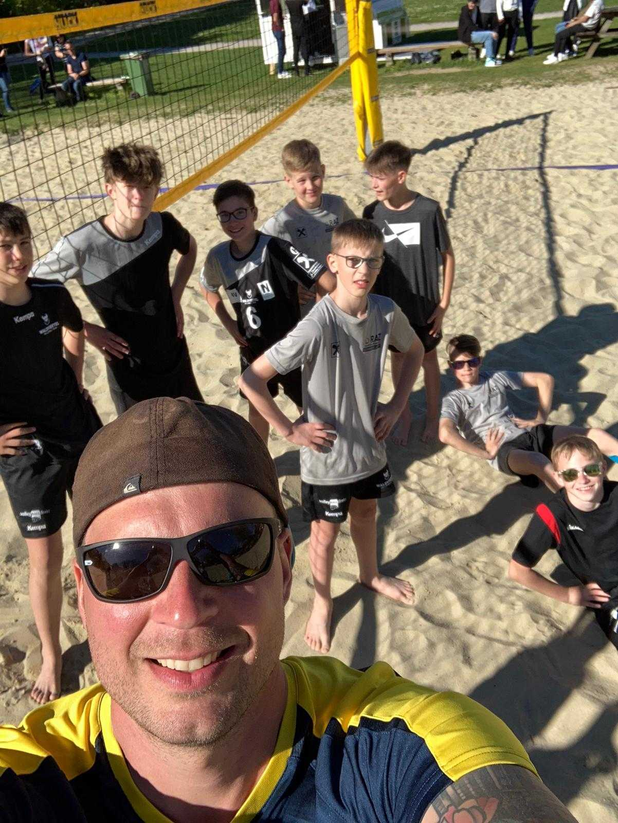 Sichtungswochenende des Volleyballnachwuchses in St. Pölten