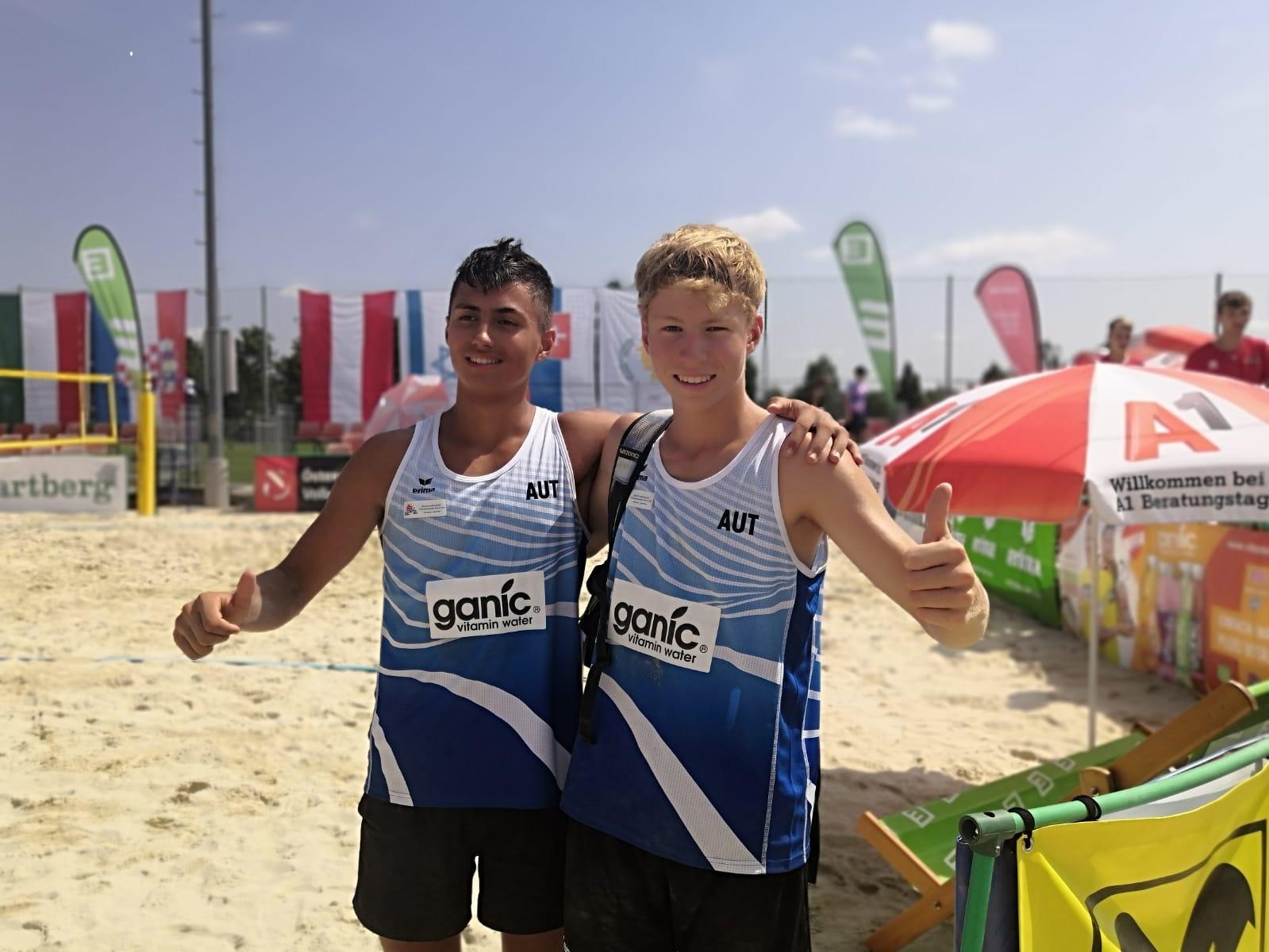 Sensationeller Erfolg bei MEVZA U16/U18 Beach-Championships