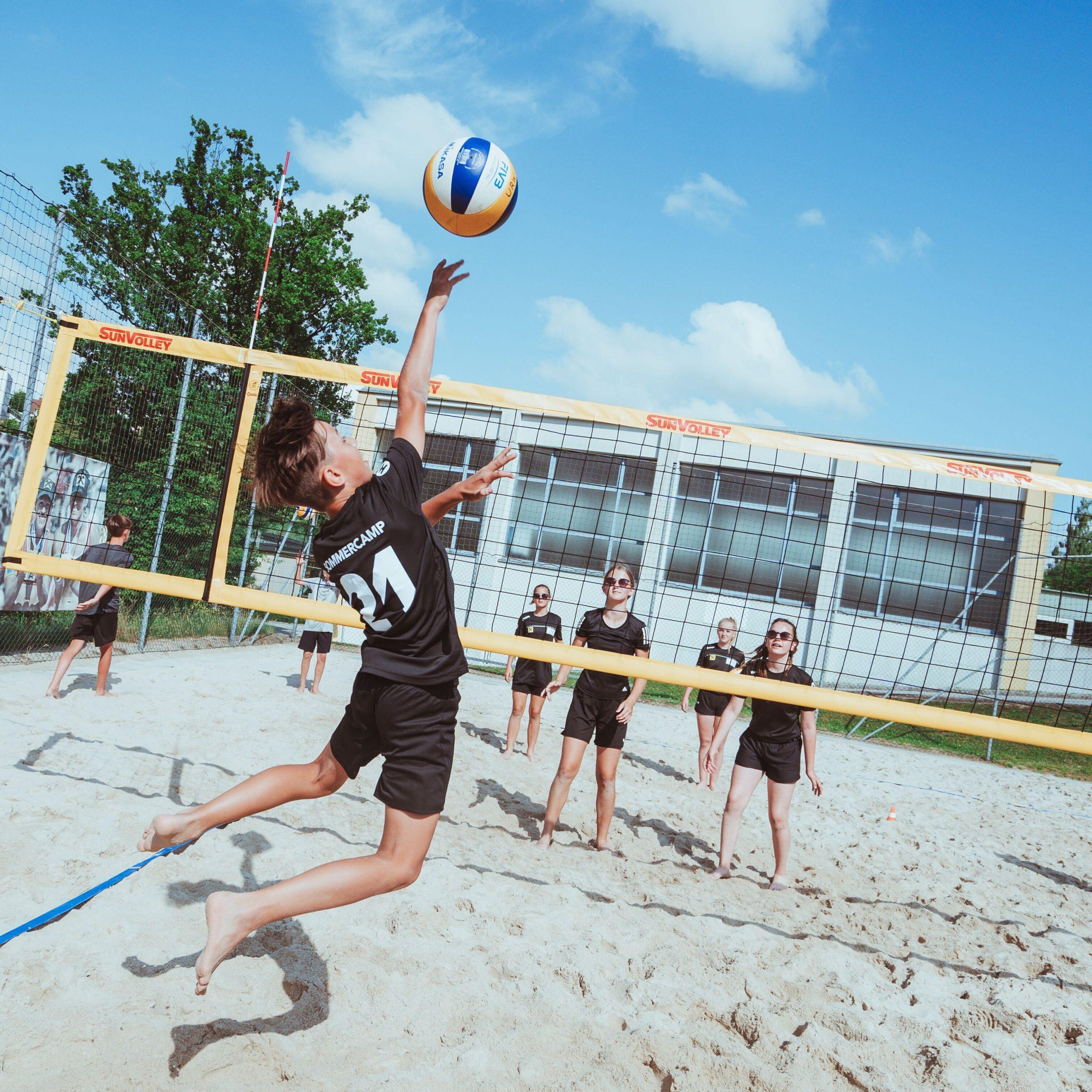 7 Tage Beachvolleyball-Action in Zwettl