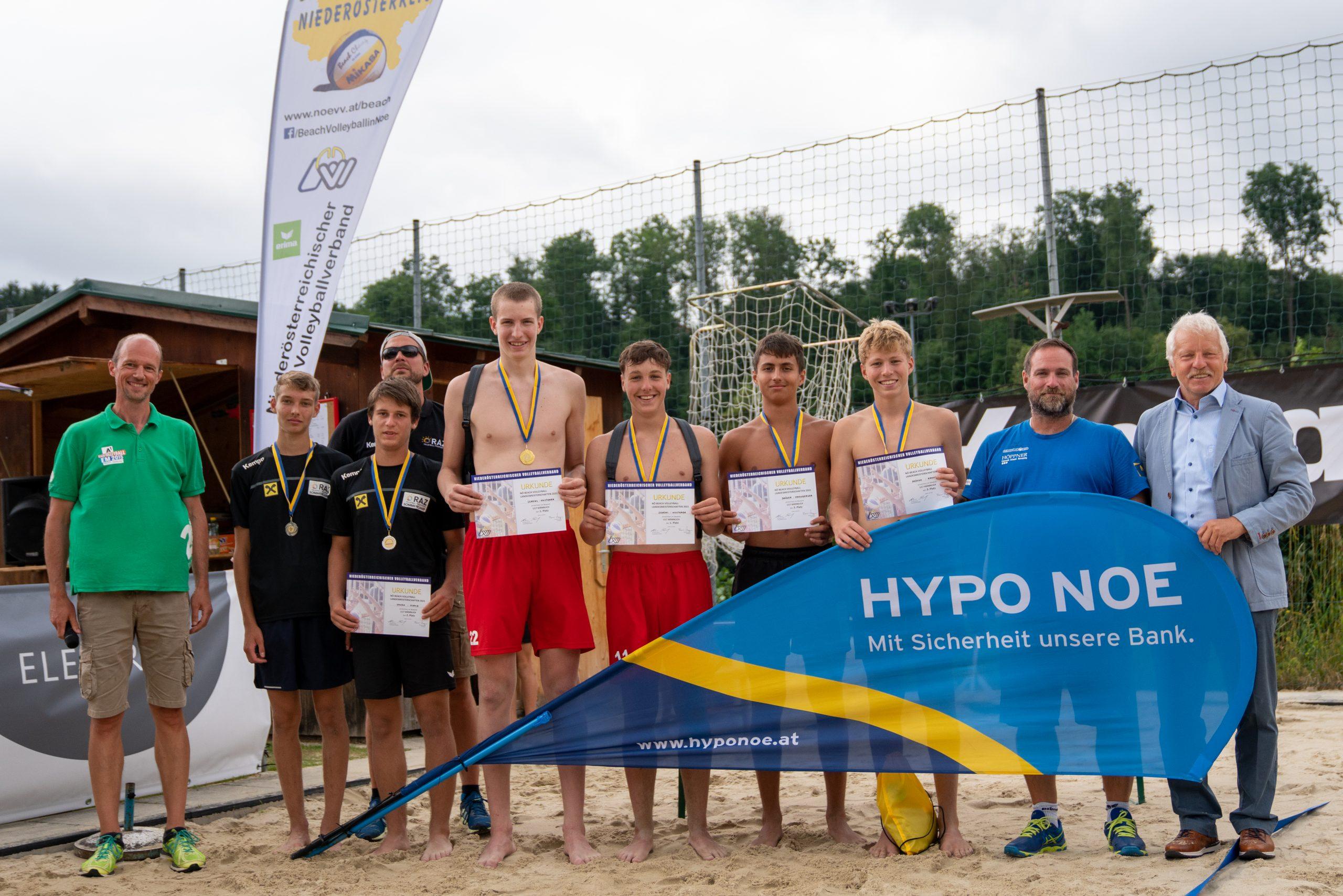 U17-Beachvolleyball-Landesmeisterschaften in Zwettl