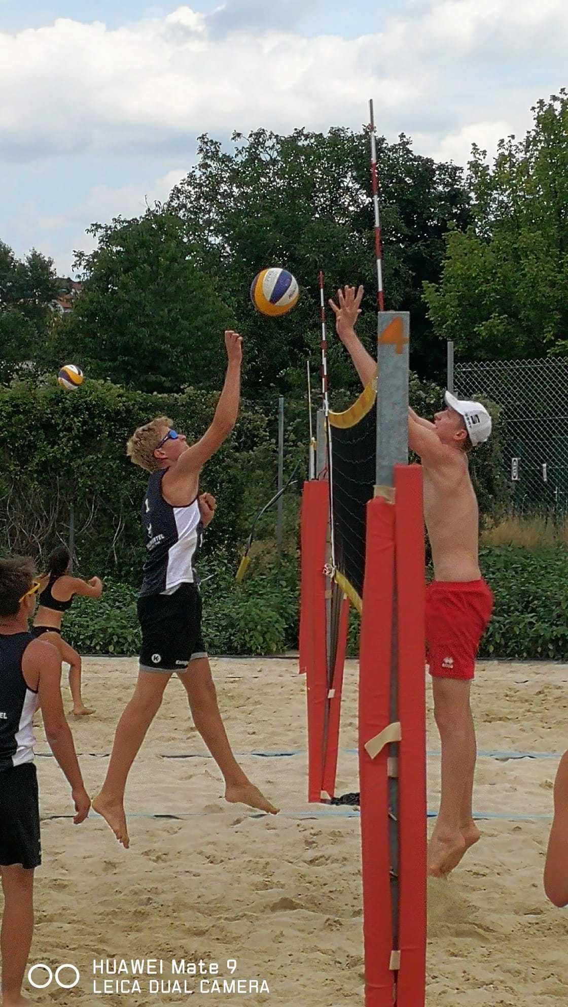 Ferienspaß Beachvolleyball