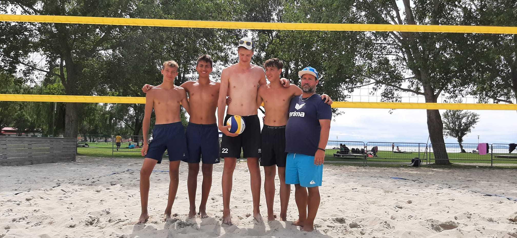 Topplatzierung für Fabian Scheikl bei der Beach-ÖMS U17