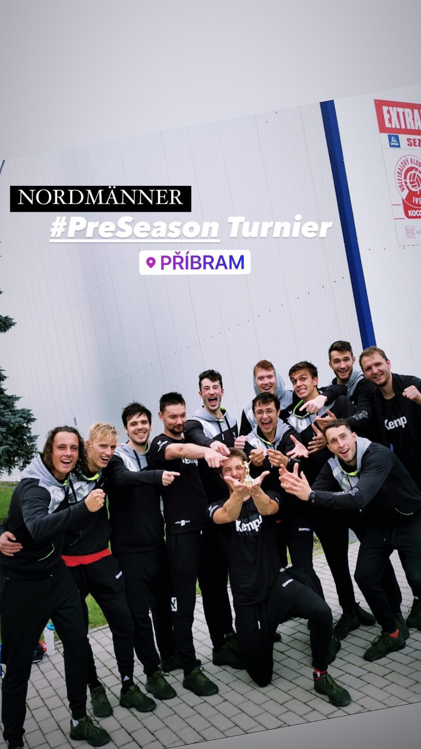Platz 2 beim Vorbereitungsturnier in Pribram